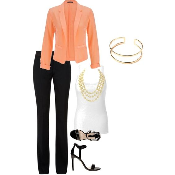 Office Casual by big-red97 on Polyvore featuring polyvore fashion style Intimissimi maurices Victoria Beckham Dorothy Perkins Chanel