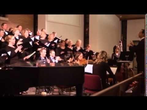 Hallelujah, Amen from Judas Maccabeus by G.F. Handel -- Houston Camerata…
