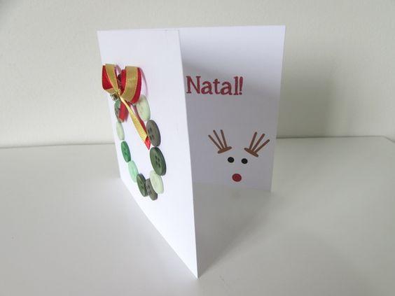Cartão de Natal - Guirlanda