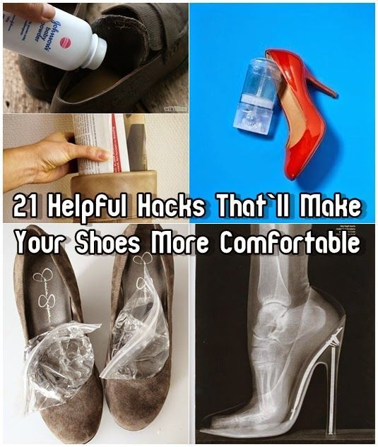 25 Ways To Make Your Heels More Comfortable Some Of These Are Genius Trying The Ice One Right Now How To Wear Heels Shoes Hack Helpful Hints