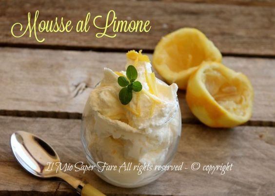 Mousse al limone senza uova ricetta facile con mascarpone,panna e limone. Crema al limone e mascarpone senza cottura fresca e leggera. ideale a fine pasto