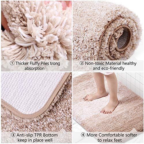 Questions Answerstroubleshooting 1 Q What Kind Of Material Kmat Bathroom Mat Answer Bathroom Rugs Bathroom Mats Large Bathroom Rugs