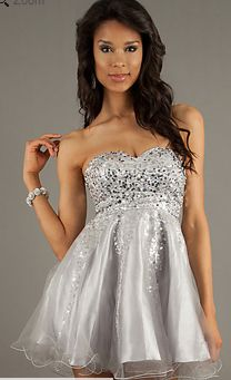 Silver Dama Quinceanera Dresses - Missy Dress