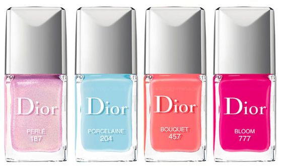 Dior Springlook 2014: The Nail Polishes (Bild: Dior)