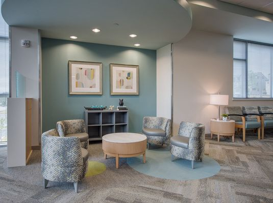 Lobby Vinings Surgery Center Holistic Decor Surgery Center Seating