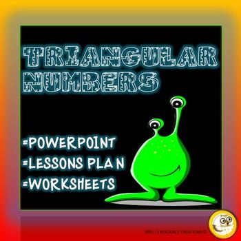 Triangular Numbers Pack | Worksheets, Lesson plans and Numbers