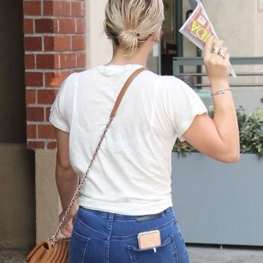Hilary Duff's Juicy Booty In Jeans #photo