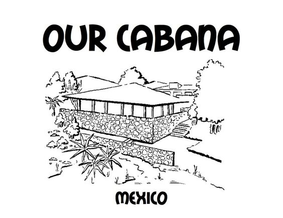 cabanas and colouring sheets on pinterest
