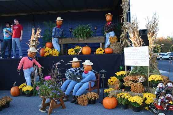 Bringing a sense of design to my Churchs' fall festival. Don't forget to help your local church!