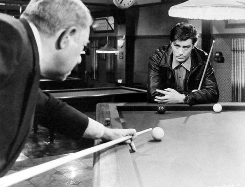 """Alain Delon, Jean Gabin """"Mélodie en sous-sol """" (1963)"""
