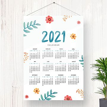Calendar Indonesia 2021 Desain Kalender Kalender Menanam Bunga
