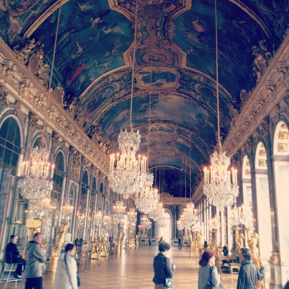 Sala dos Espelhos - Versalles...sem palavras! #piralex