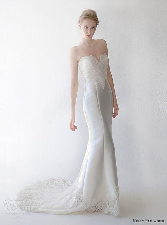 2015 BRIDAL gowns | kelly faetanini spring 2015 wedding dress cordelia