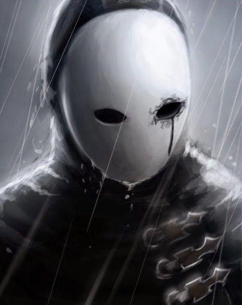 Anime Boy Iphone Wallpaper Dark Mask Dark Anime Anime Wallpaper