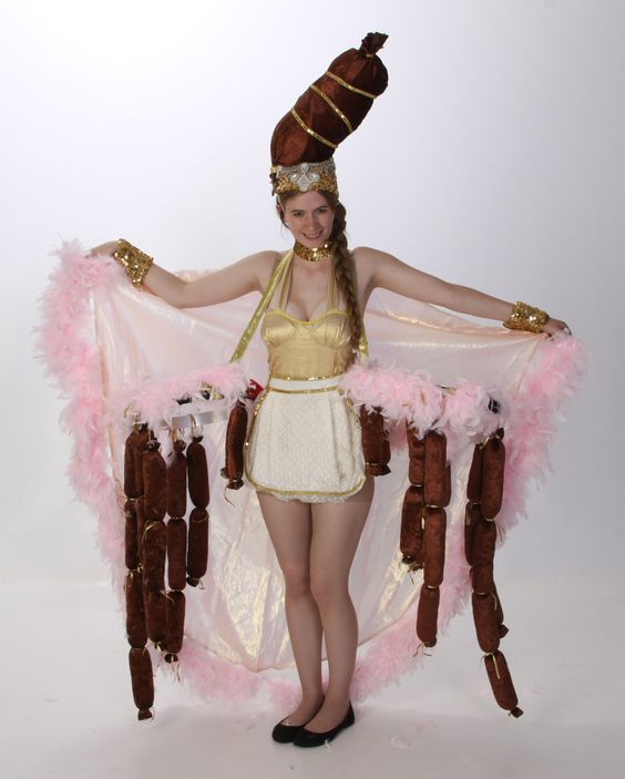 Sausage Showgirl Costumes - The Producers Theatre Rental from $39-53 per costume