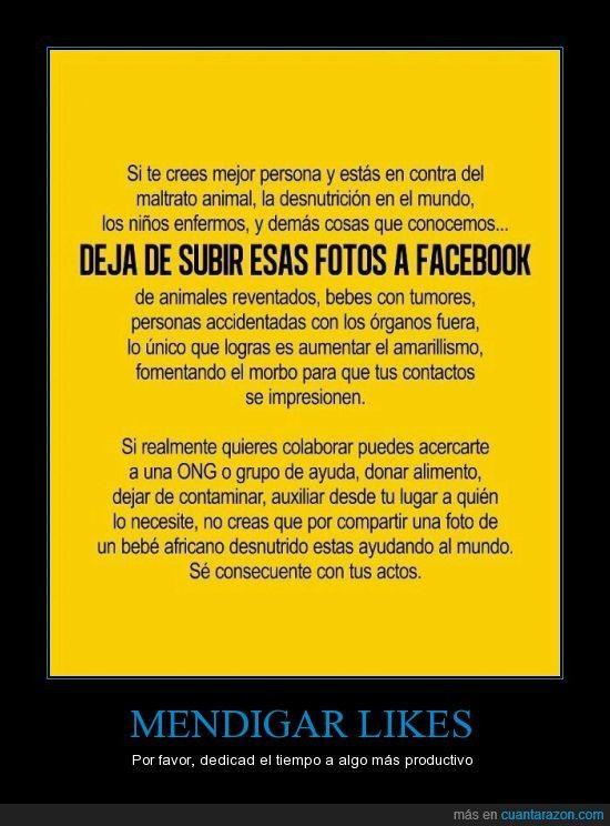 No poner en FB