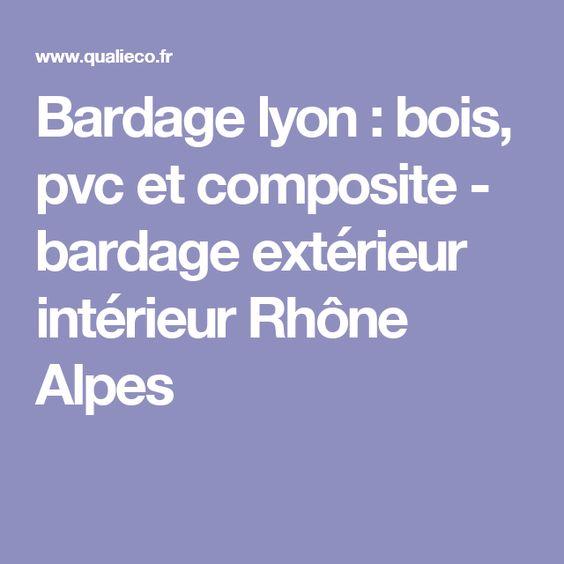 Bardage lyon : bois, pvc et composite - bardage extérieur intérieur ...
