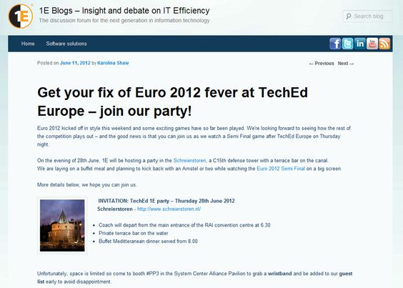 The Famous 1e Party To Hit Teched Europe Europe Party