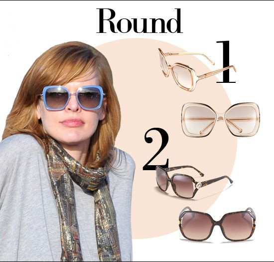 Glasses Frame Shape Round Face : Round faces, Round face shapes and Faces on Pinterest