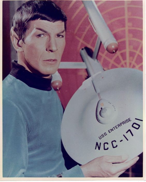 Publicity photo, from the 1960's television series STAR TREK.