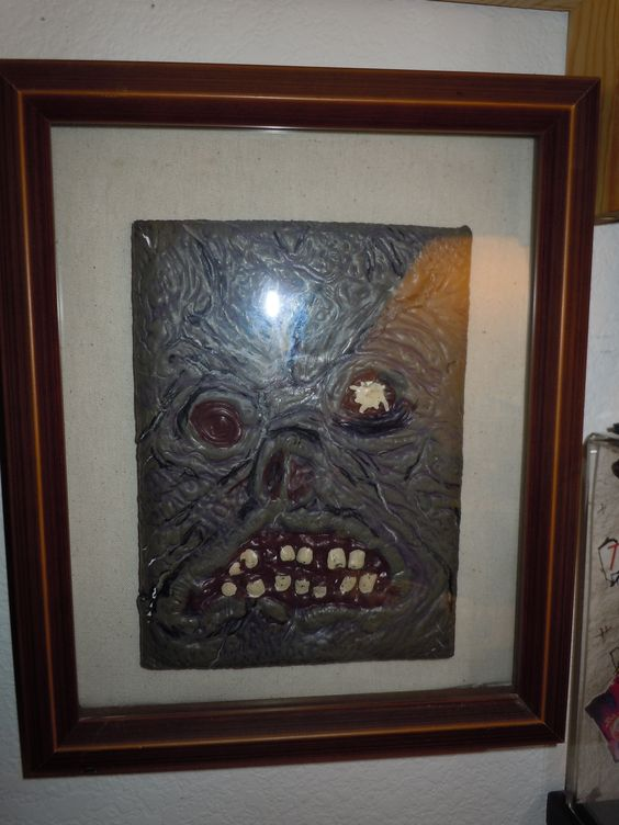 The book of the dead in a shadow box