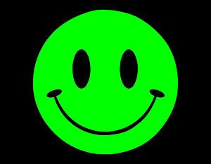 neon green smiley emotion pinterest n on vert n on et vert. Black Bedroom Furniture Sets. Home Design Ideas