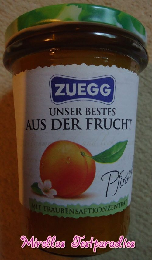 Der Fruchtaufstrich von Zuegg ist einfach himmlisch.