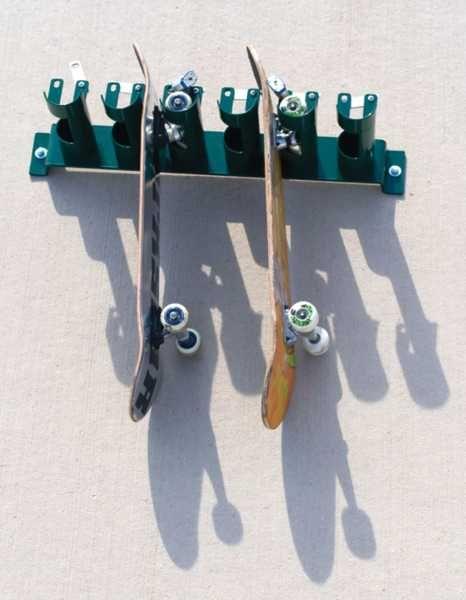 skate rack wall mounted