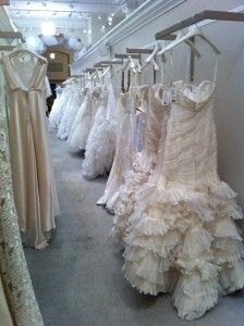 kleinfelds showroom photos | Fashion Friday: A Trip to Kleinfeld and Behind-the-Scenes Tour | Our ...