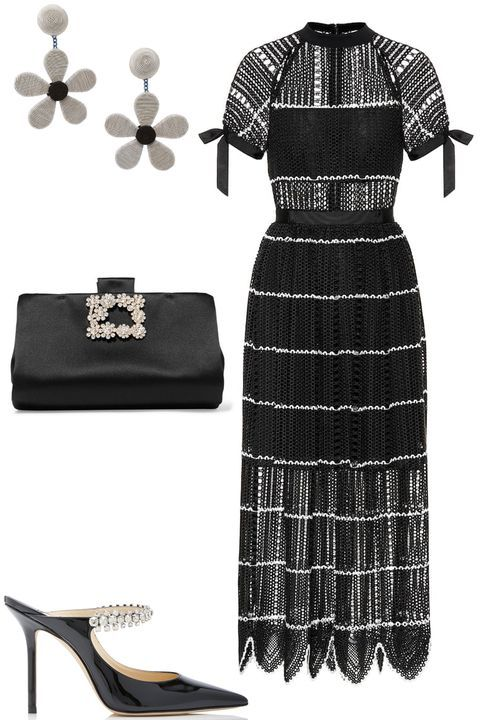 How To Be The Best Dressed Guest At A Summer Wedding Christmas Wedding Guest Outfits Wedding Guest Outfit Black And White Wedding Guest Dresses