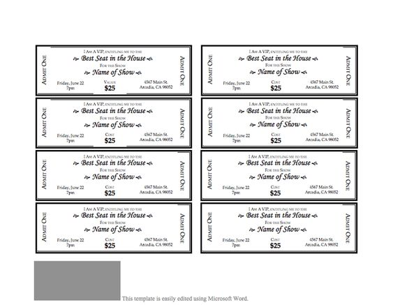 SelfButler Be Inspired – Lunch Ticket Template