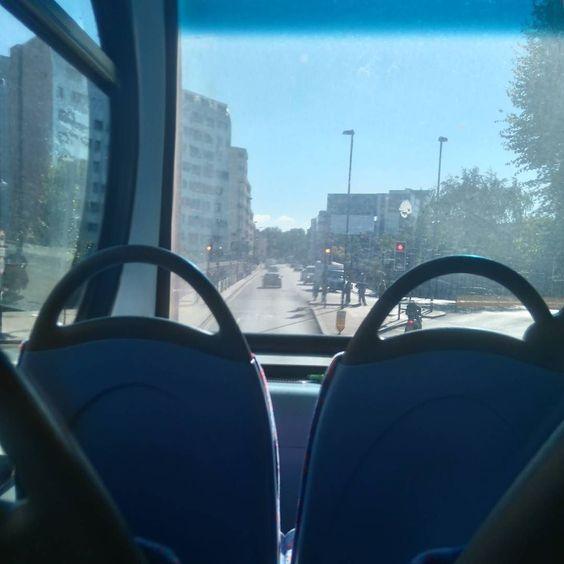 Riding the bus by shivartigan