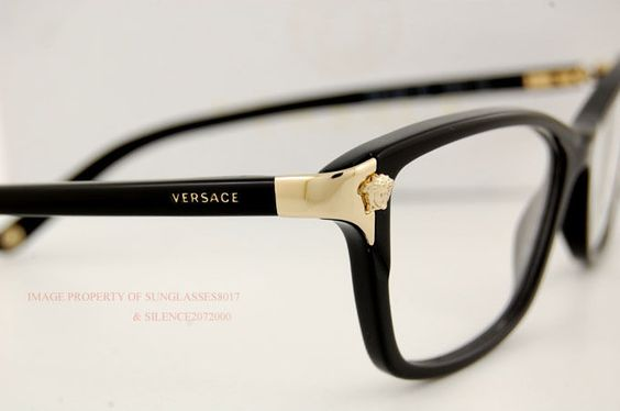 Eyeglasses, Versace and Ray bans on Pinterest