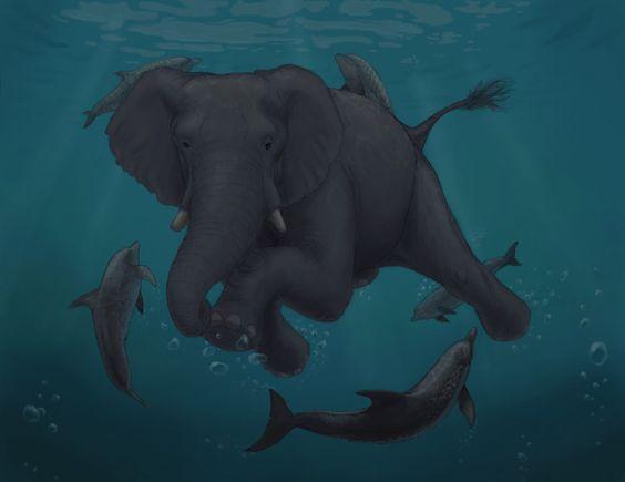 Underwater meeting by ~tallydragon on deviantART
