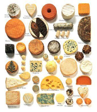 Quesos de Francia: Food Cheese, De France, French Food, Cheese Board