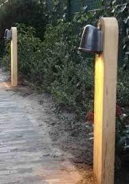 Afbeeldingsresultaat voor tuinverlichting op paal zelf maken