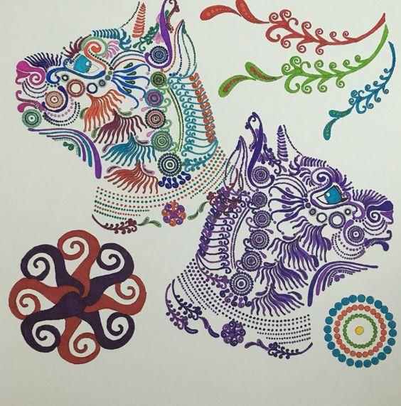 BD Illustration Zendoodle Coloring By Julia Snegireva Found At Barnes And Noble Upc 781250086488