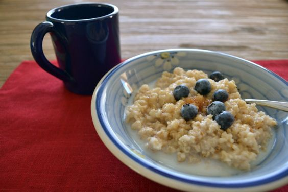 Brown Sugar & Blueberry Oatmeal