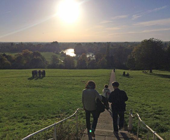 Blog アップしました! 今回はロンドン・リッチモンドをぶらぶら散歩した時のスナップです…