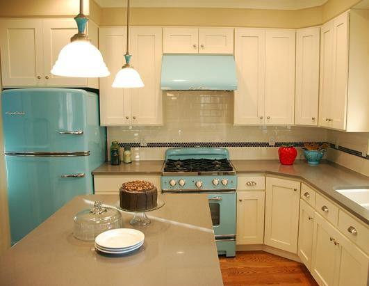 50s kitchen kitchens and appliances on pinterest - Capital kitchen appliances ...