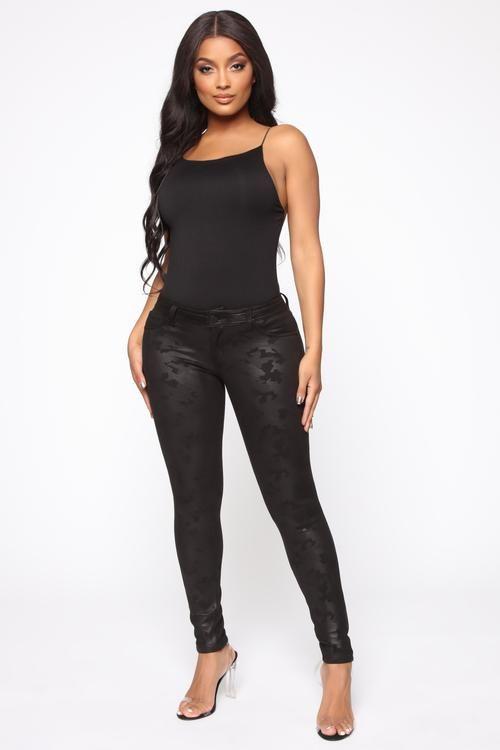 Vivianna PU Leather Midi Dress Black | Black midi dress