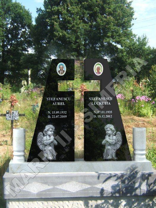 Monumente Funerare Cruci Din Marmura Si Granit Seminee Placari Terase Glafuri Scari Socluri Balus Granite Monuments Cemetery Headstones Tombstone Designs