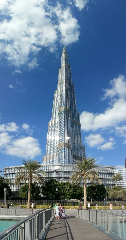 Burj Khalifa - Fab Picture taken my friend Pierre at Travelling Light photography