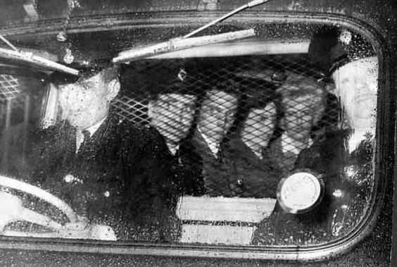 Ian Brady and Myra Hindley on their way to their new home - PRISON -