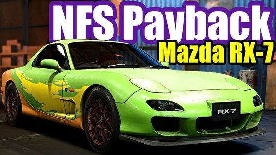 Need For Speed Payback 11 Mazda Rx 7 Abandoned Car Location Police Mazda Rx7 Abandoned Cars Mazda