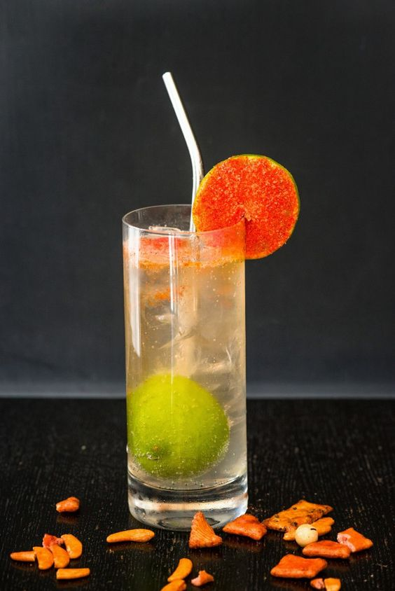 "Try this new summer cocktail recipe for a ""Rickey Goes to Hawaii."" A unique variation on the Rickey – Washington D.C.'s Native cocktail."