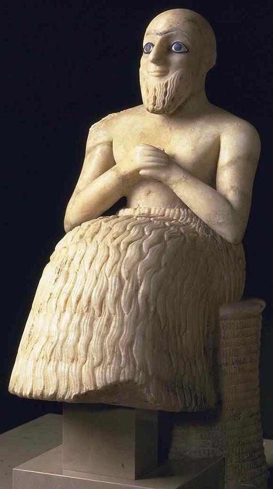 statue de l'intendant ebih-il 2400 av
