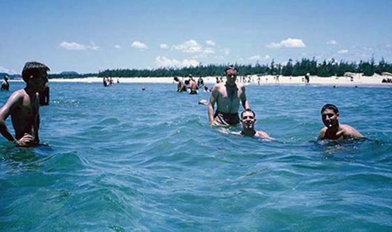 China Beach, Da Nang, March 1966