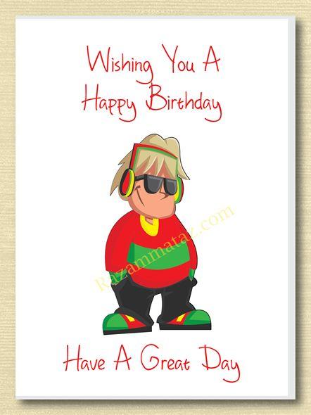 Birthday Boy Card B