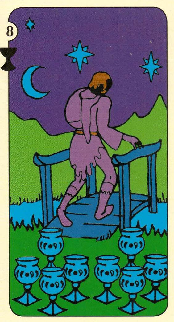 Eight of Cups - Sheridan Douglas Tarot